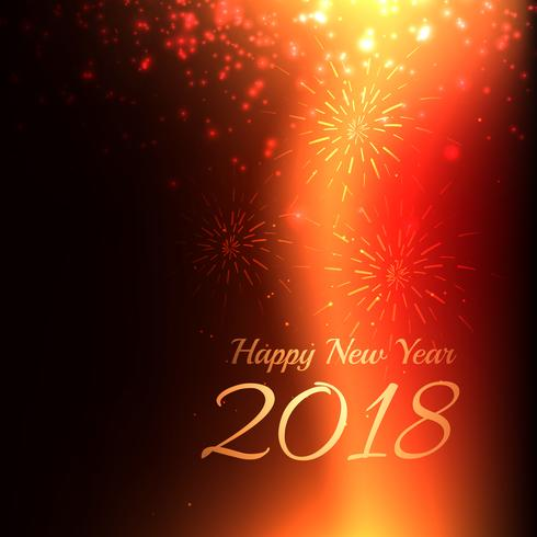 happy new year 2018 background with light effect - Download Free
