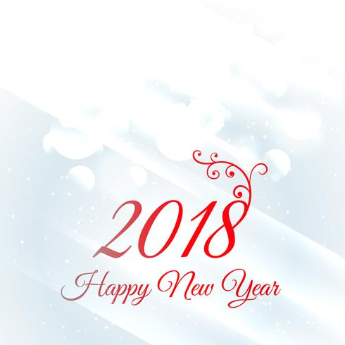 2018 happy new year greeting card design background - Download Free