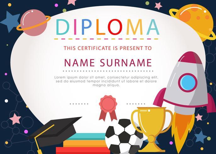 Gratis Diploma Arte Vector - (2124 Descargas Gratis)