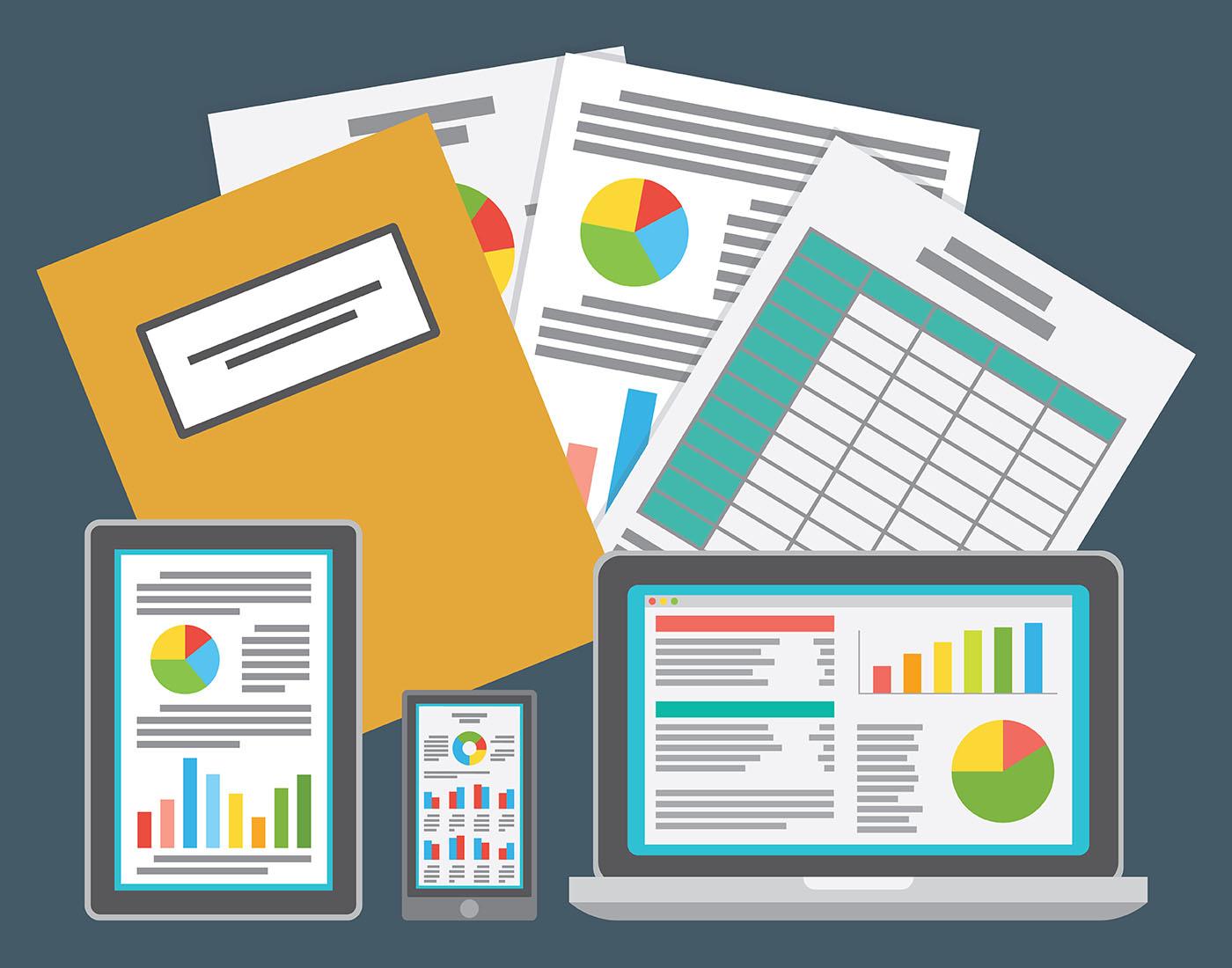 template for spreadsheet