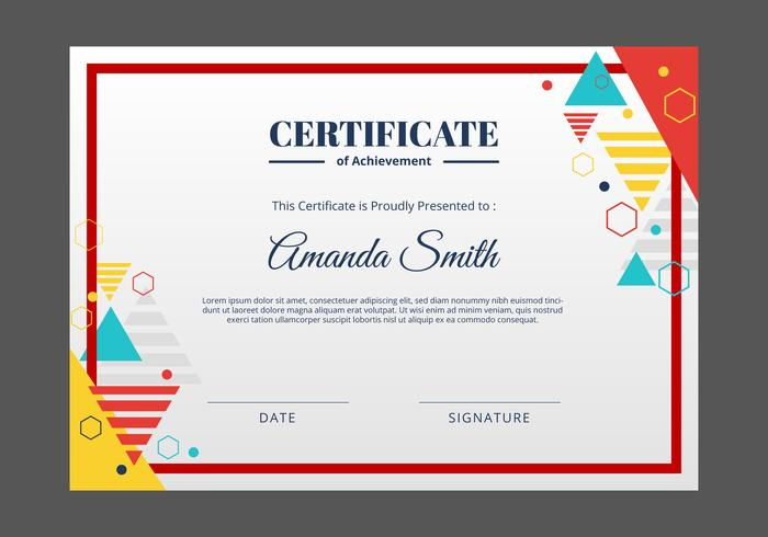 Certificate Template Free Vector Art - (17436 Free Downloads)