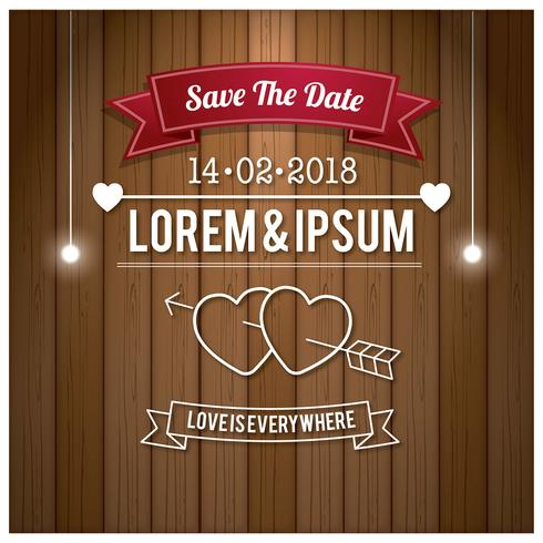 Free Wedding Save The Date Vector - Download Free Vector Art, Stock - free wedding save the dates