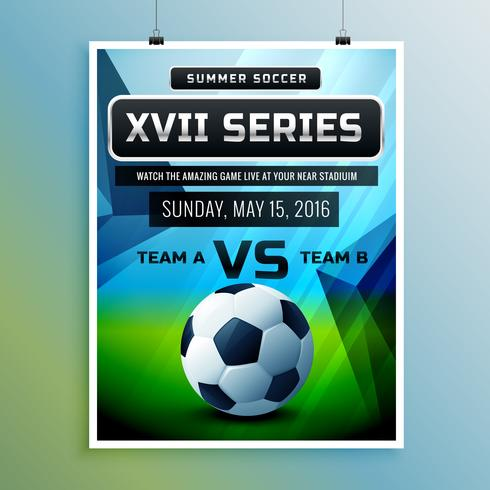 soccer championship flyer template - Download Free Vector Art, Stock - competition flyer template