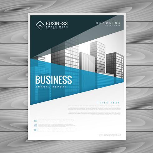 brochure template design for business presentation - Download Free