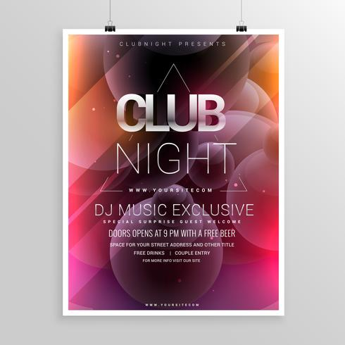 Club Flyer Free Vector Art - (8430 Free Downloads)