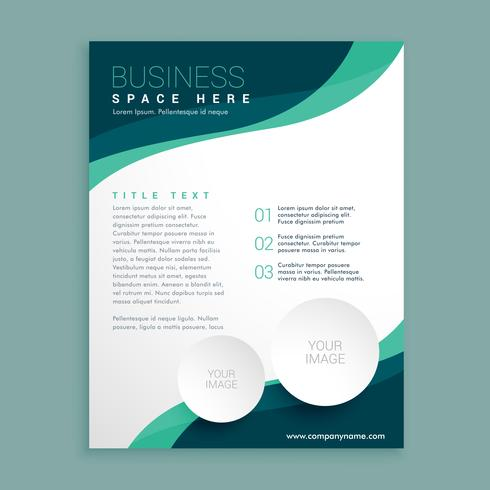 business flyer pamphlet brochure design template in A4 - Download