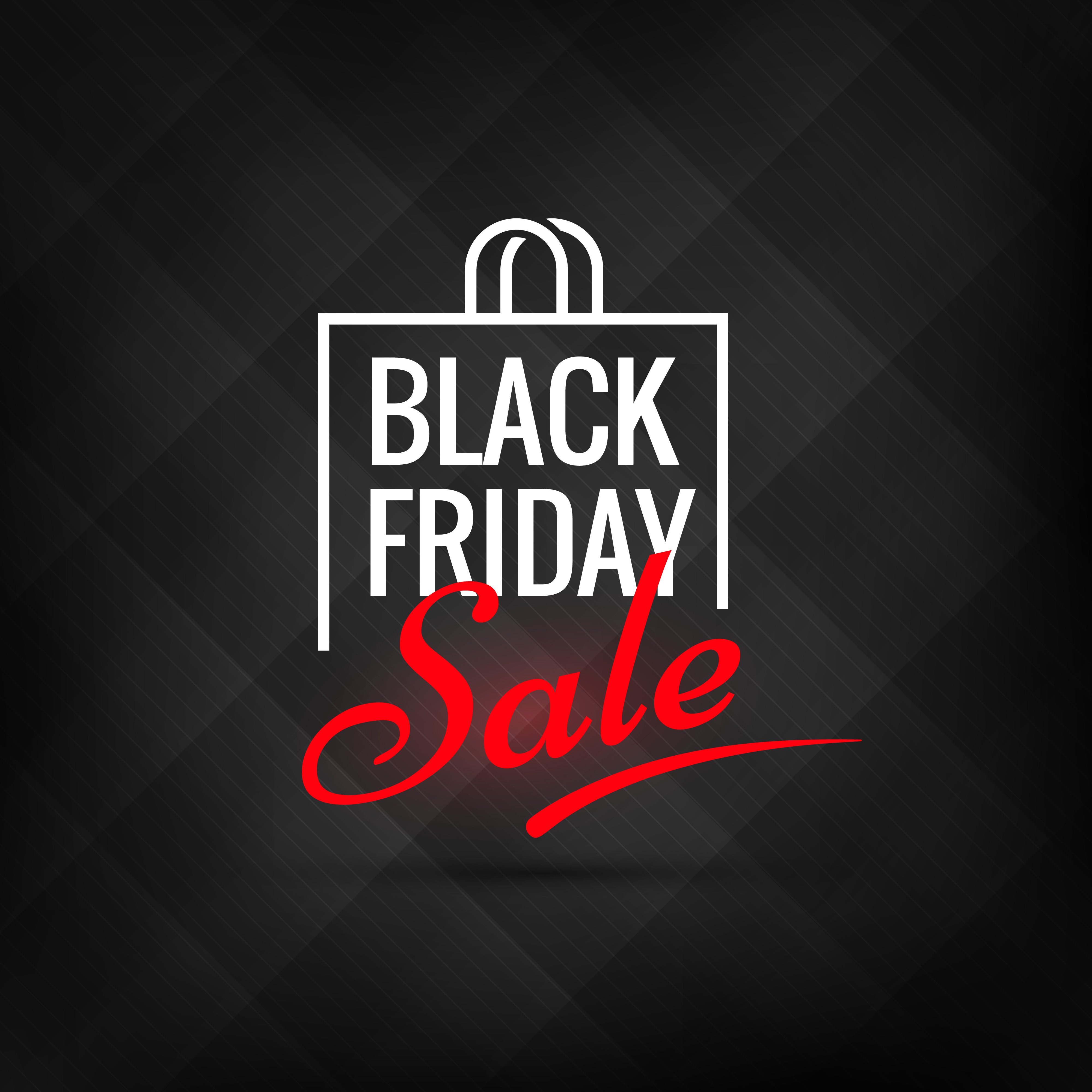 Friday Sale Creative Black Friday Sale Poster Download Free Vector