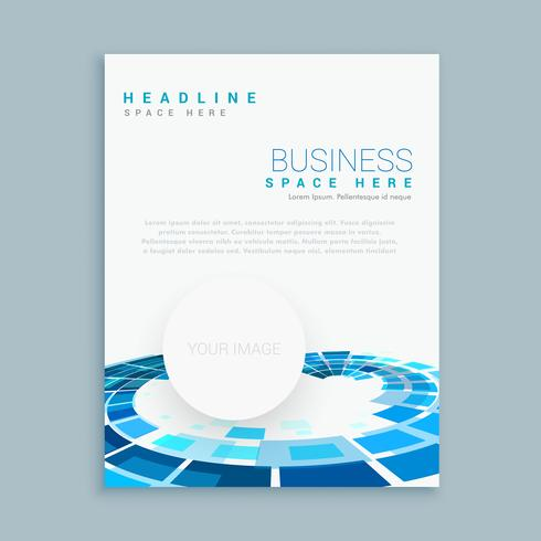 abstract business brochure template - Download Free Vector Art