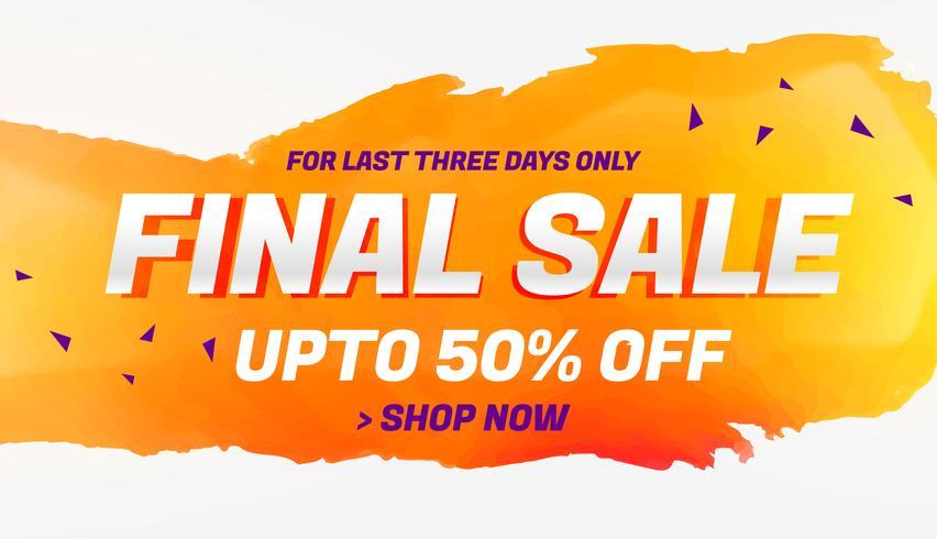 final sale discount coupon voucher design template - Download Free