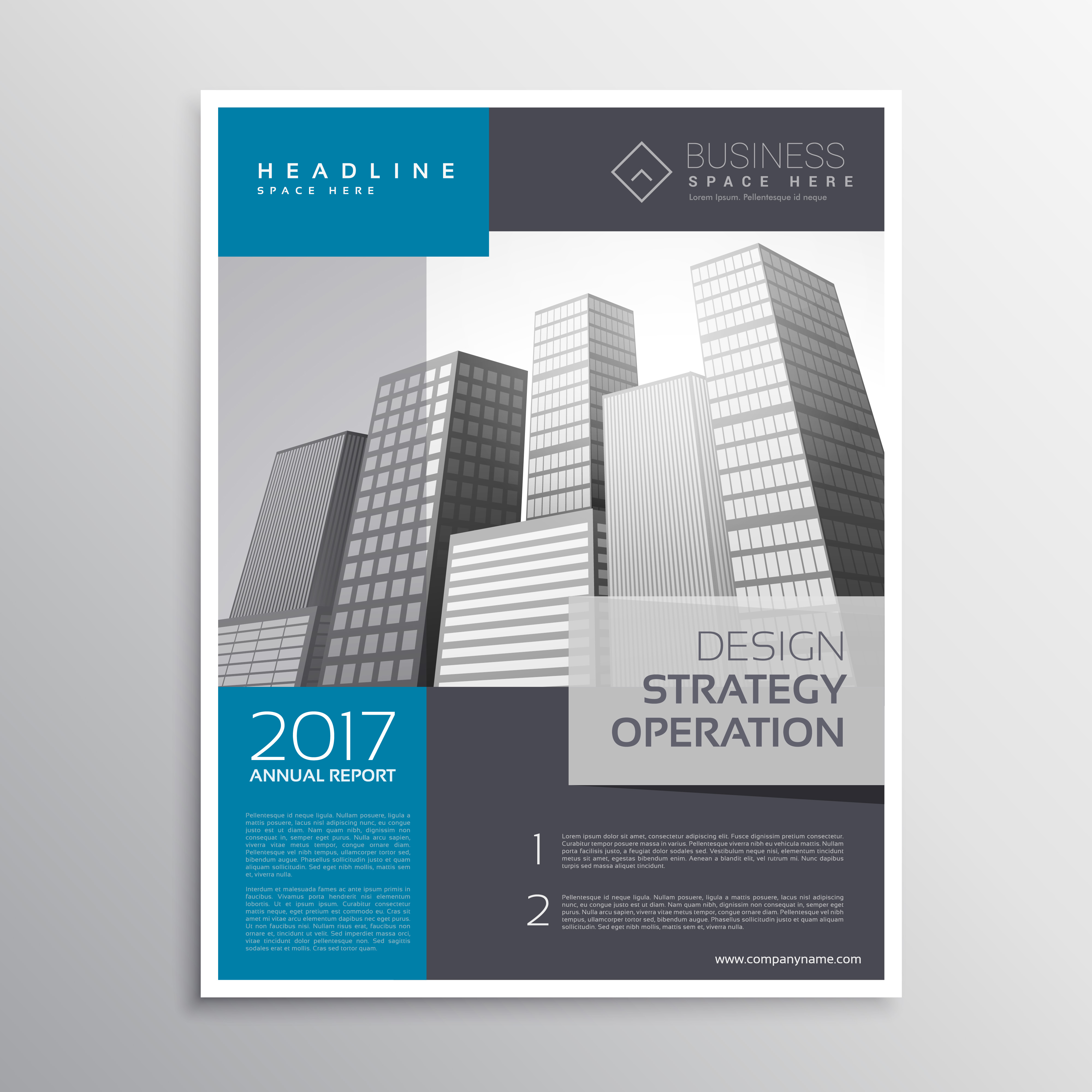 professional poster template