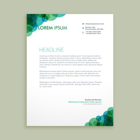 creative business letterhead identity template vector design ill - business letterheads