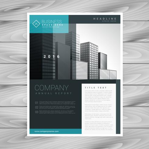 stylish modern brochure design template - Download Free Vector Art