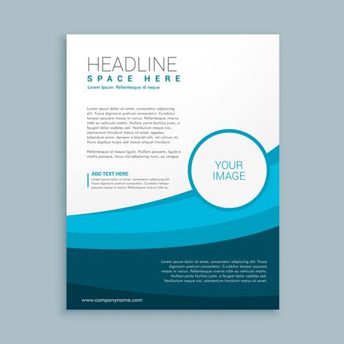 modern business brochure template design - Download Free Vector Art - phamplet template