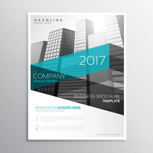 modern company brochure template presentation - Download Free Vector - Company Brochure Templates