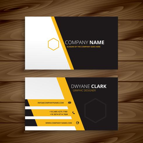 modern business card template vector design illustration - Download - Buisness Card Template