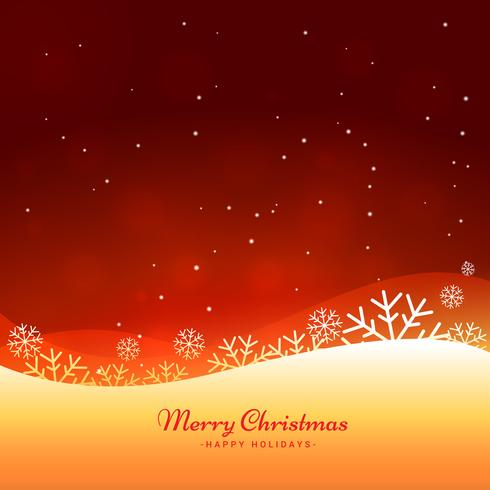 beautiful merry christmas background - Download Free Vector Art