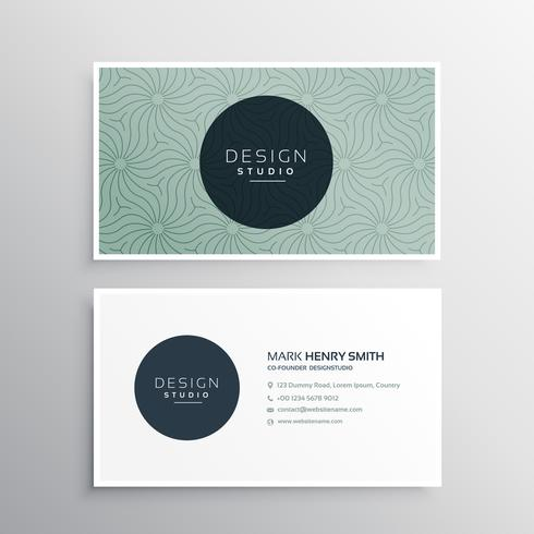 abstract company business card template - Download Free Vector Art - business card template