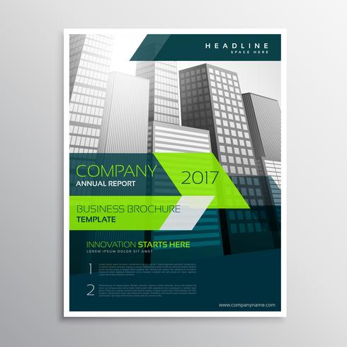 modern company brochure template design - Download Free Vector Art - Company Brochure Templates