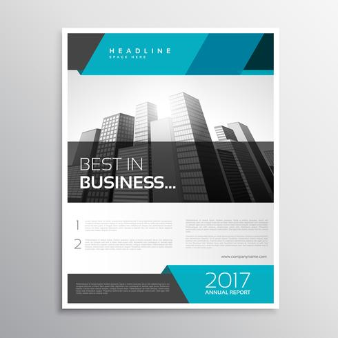 modern business flyer brochure cover template - Download Free Vector
