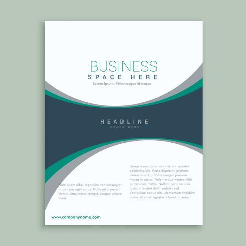 elegant magazine cover page or brochure design template - Download