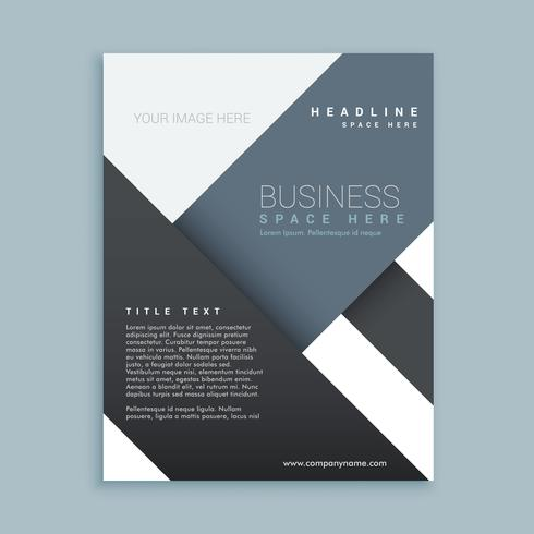 abstract promotional company brochure template poster - Download - company brochure templates