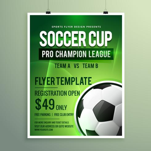 Sports Event Flyer Template Images - Template Design Free Download