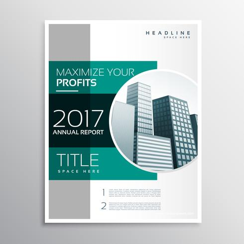 company annual report business brochure design template - Download