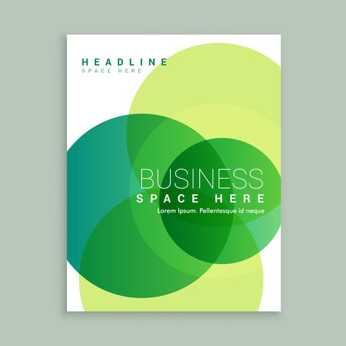 creative business brochure template - Download Free Vector Art