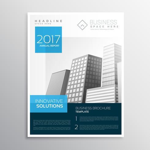 modern elegant blue brochure design layout cataglog - Download Free