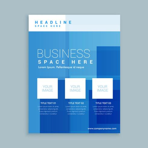business marketing flyer brochure template - Download Free Vector - marketing brochure