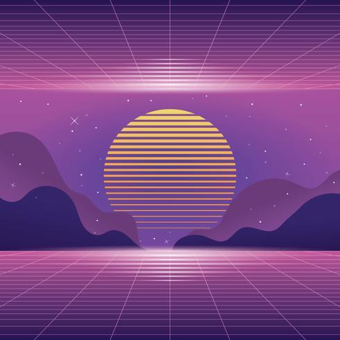 Vaporwave Background - Download Free Vector Art, Stock Graphics  Images