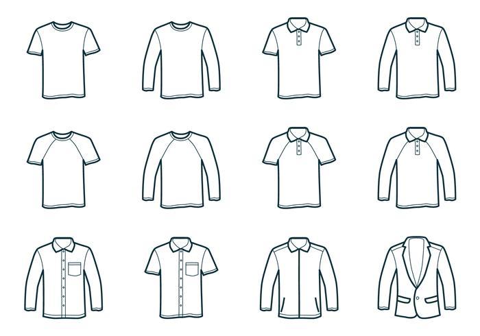 T Shirt Free Vector Art - (1126 Free Downloads)