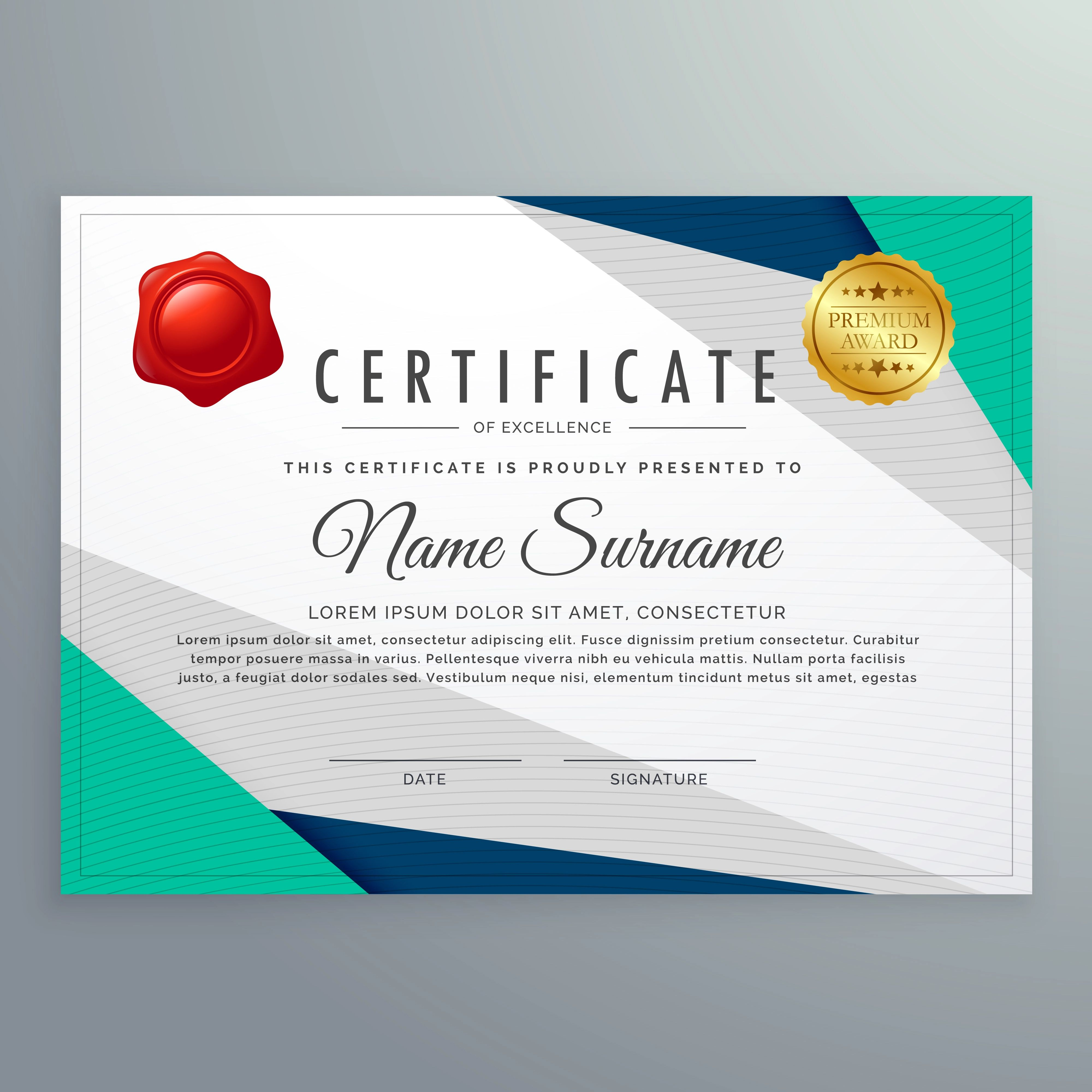 diploma template free download