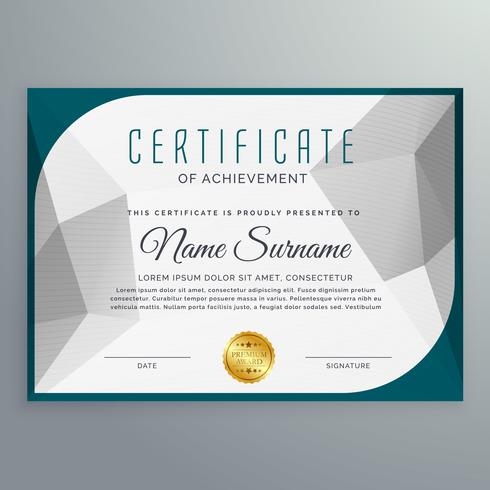 Free Resume Cover Letter » minimalist certificate graphics designs - creative certificate designs