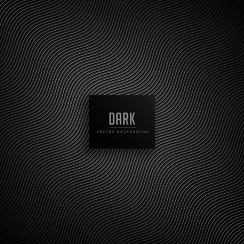 dark background with wavy pattern lines - Download Free Vector Art