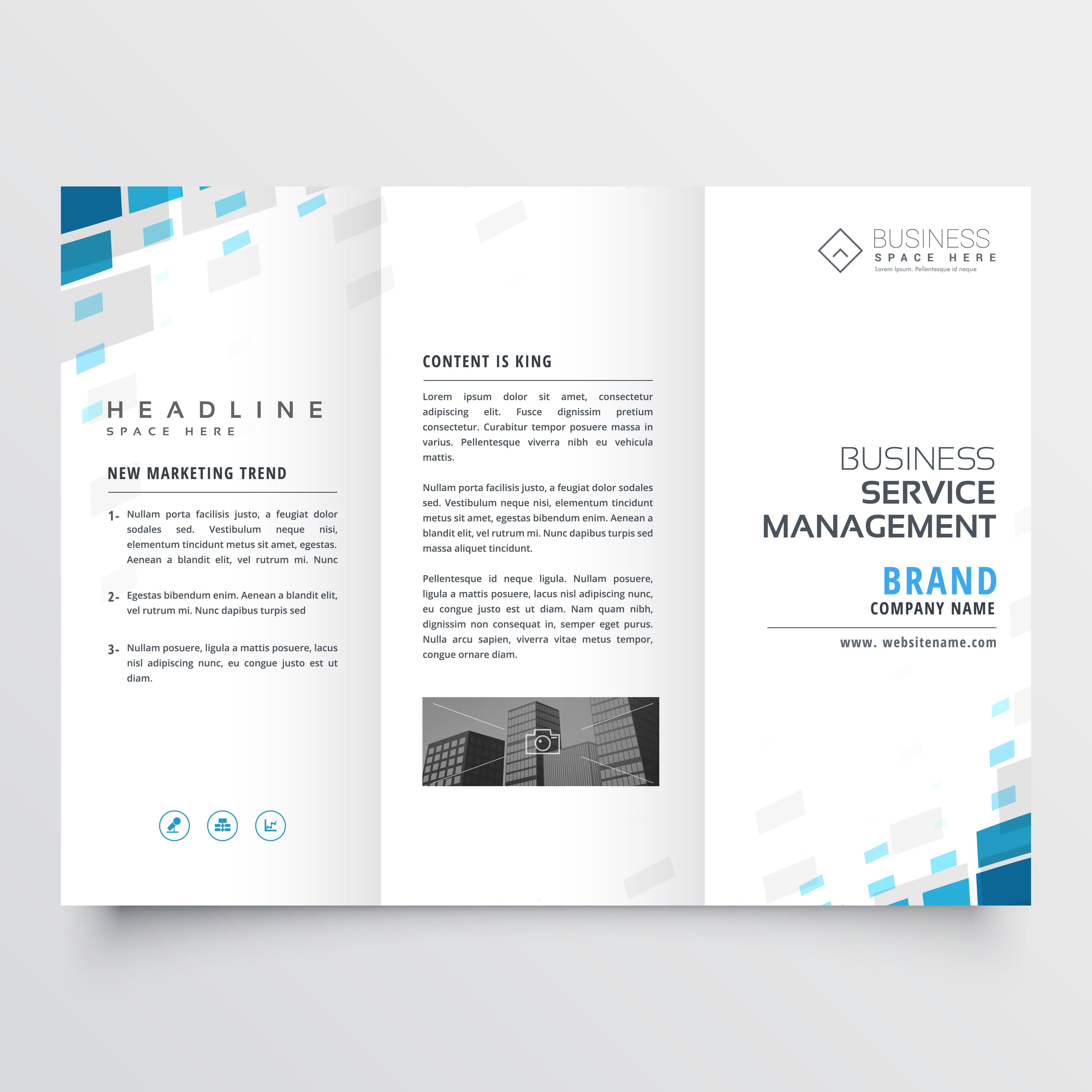 simple brochure designs
