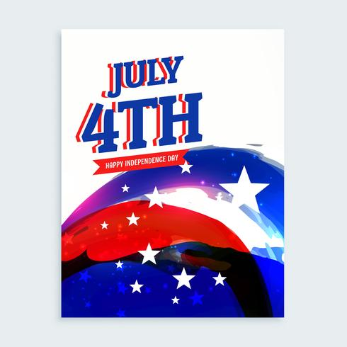 4th of july independence day flyer - Download Free Vector Art, Stock - independence day flyer