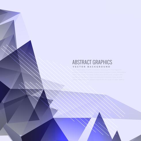 3d Geometric Shapes Wallpaper White Abstract Purple Triangles Background Design Download