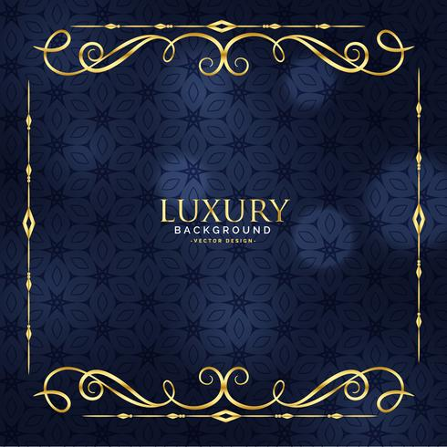 luxury invitation floral premium background - Download Free Vector