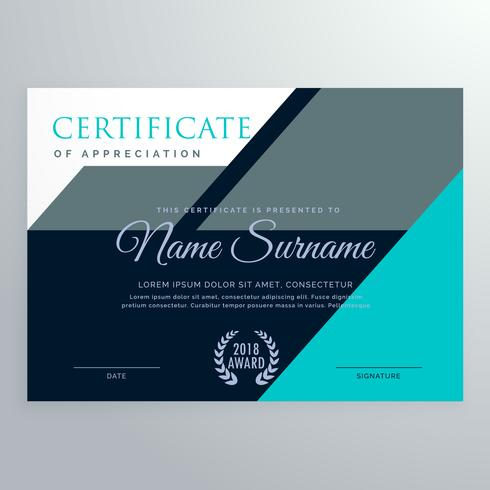 elegant appreciation certificate template design - Download Free - free appreciation certificate templates