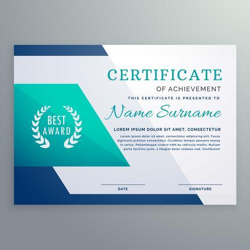 certificate design templates - Trisamoorddiner