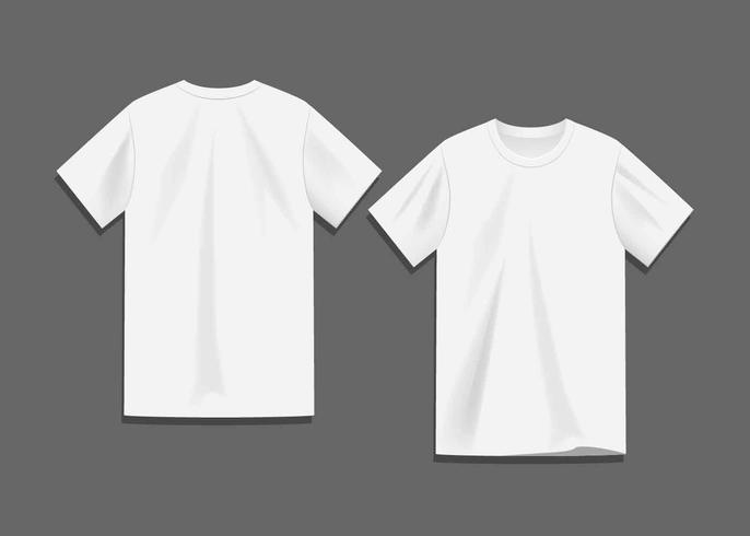 White Blank T-shirt Template Vector - Download Free Vector Art - t shirt template