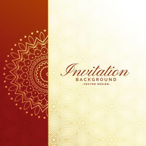 premium invitation luxury background design - Download Free Vector