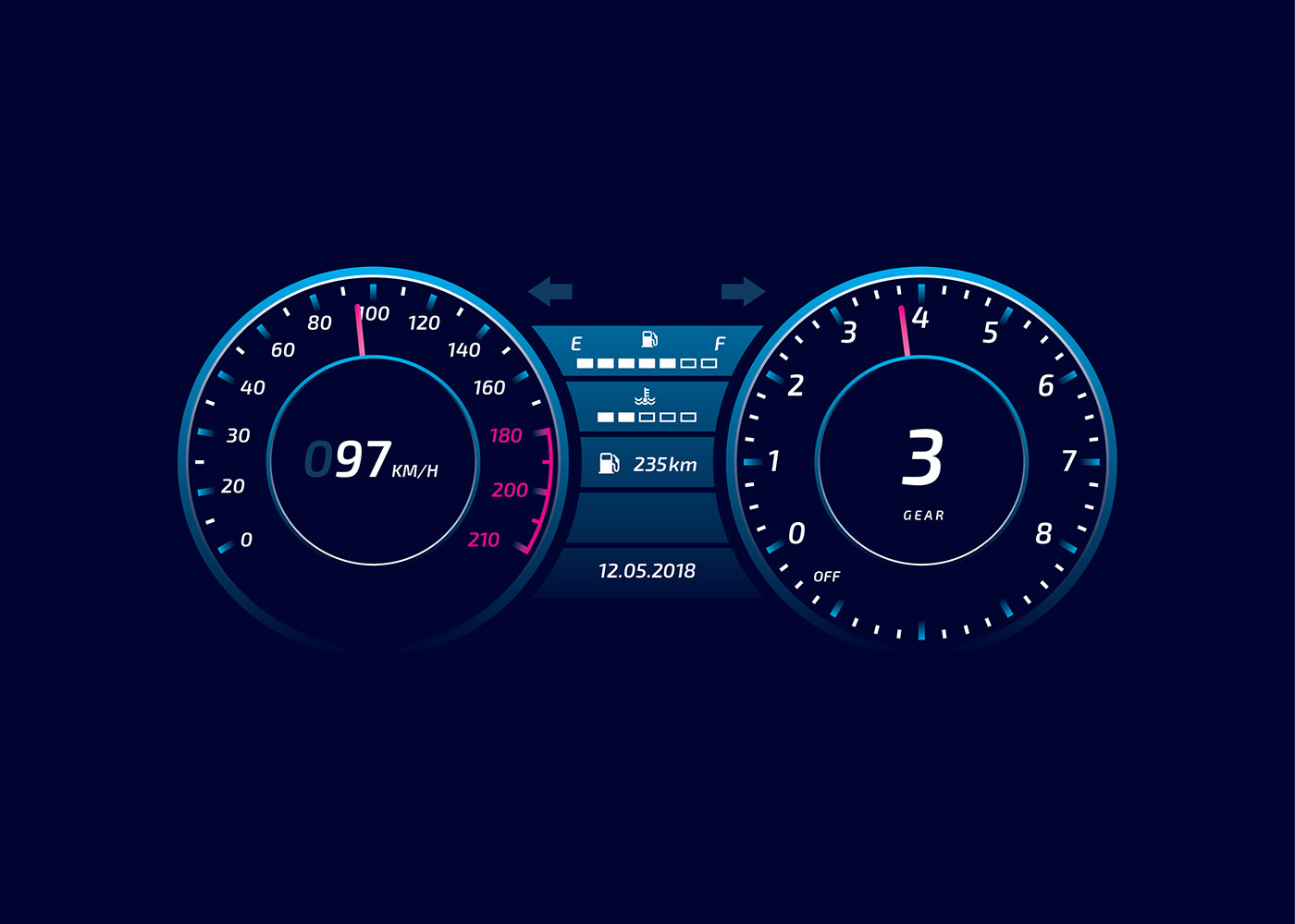 Free Wallpaper Old Cars Tacometer Free Vector Art 8714 Free Downloads