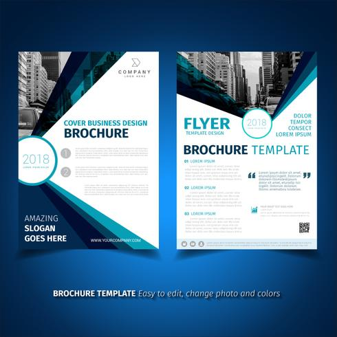 Business Brochure Flyer Design Template - Download Free Vector Art