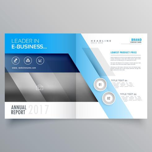 professional magazine cover page design or bi fold brochure temp