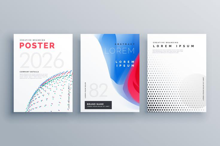 minimal brochure template creative cover design in size A4 made