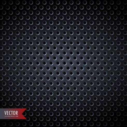 Vintage Brick Wallpaper 3d Carbon Metal Background With Holes Download Free Vector
