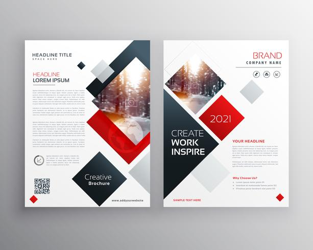 creative business brochure template design in size A4 - Download