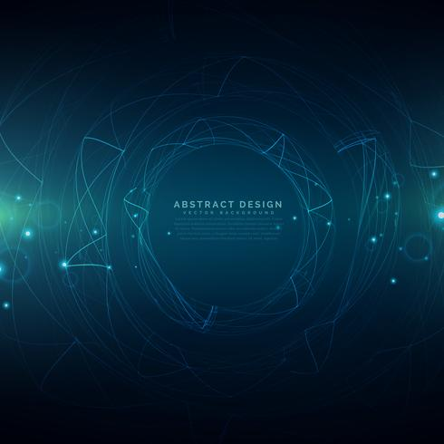 abstract futuristic technology mesh background - Download Free